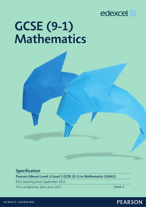 GCSE Mathematics course spec