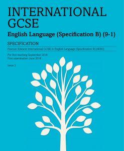 IGCSE English Language specification