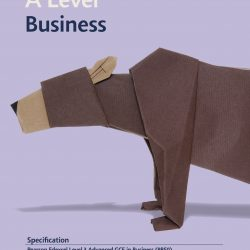 Business A Level spec front cover