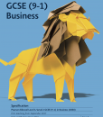 GCSE business specification front page
