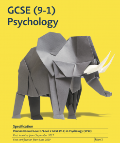 gcse psychology specification front cover