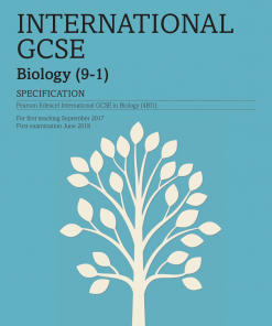 igcse biology specification front cover