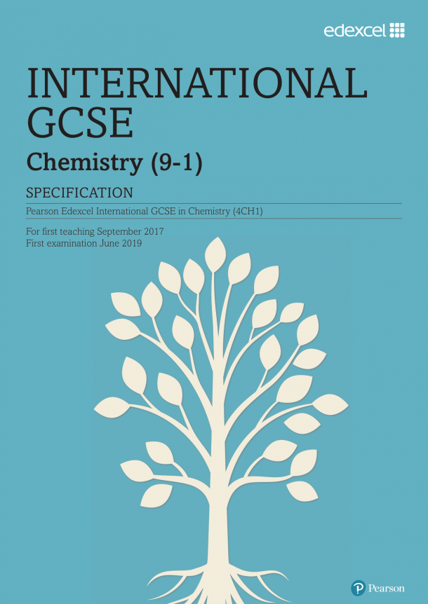 gcse chemistry coursework plan The oxford open learning international gcse chemistry course is designed to follow the structure of the edexcel 4ch0/4ch1 specification and is divided into six modules, as follows: module 1: introducing chemistry.